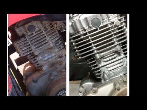 Cleaning / polishing ATV motor. Tips