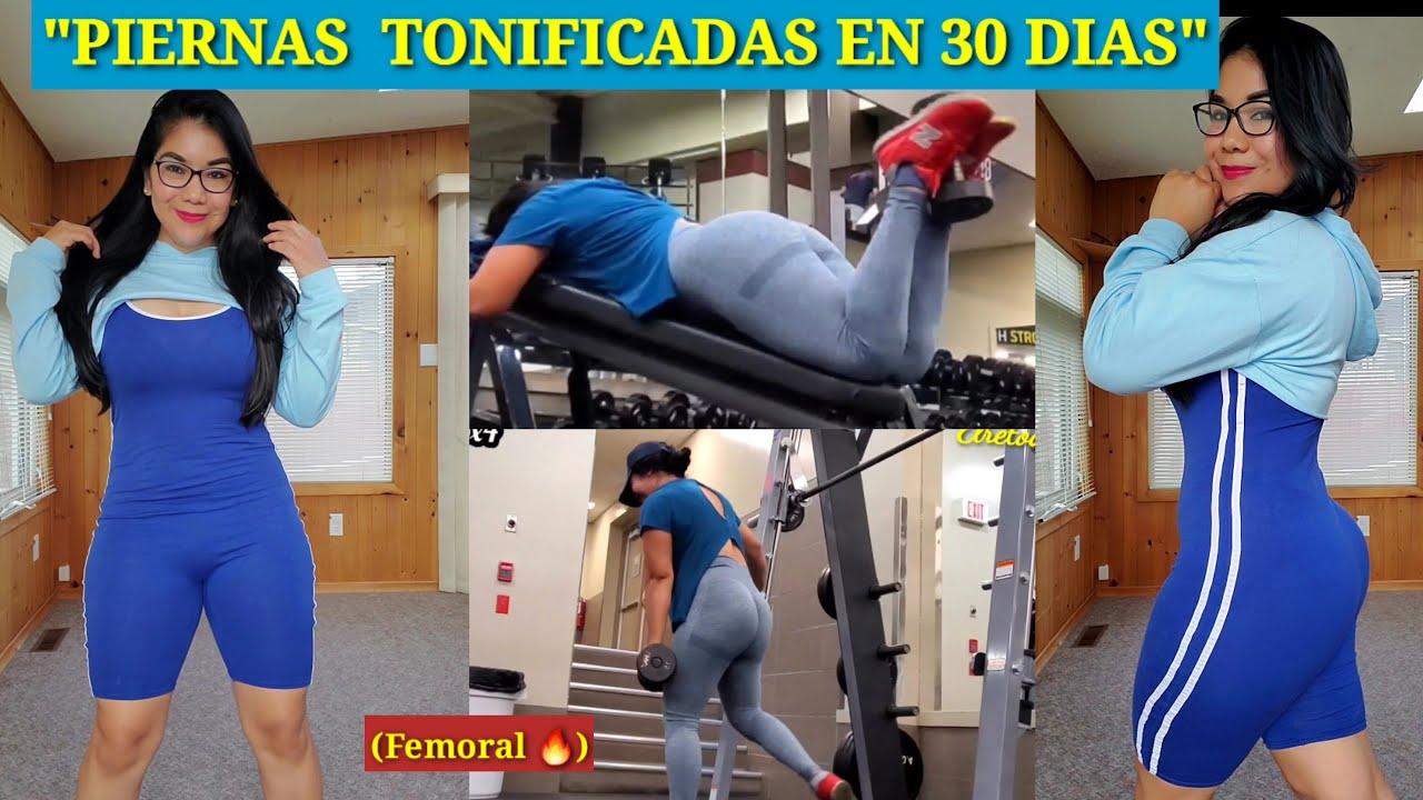 """""""Piernas Tonificadas   en 30 Dias"""" (#Femorales a fuego🔥)"""