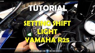 Cara Setting Shift Light Pada Motor Yamaha R25