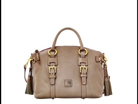 Dooney and bourke florentine leather bristol satchel unboxing
