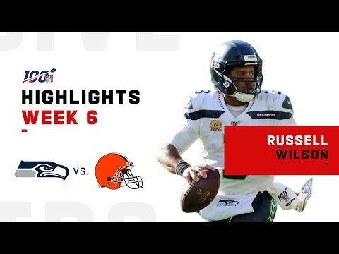 Russell Wilson's 3-Touchdown Day | 2019 NFL Highlights