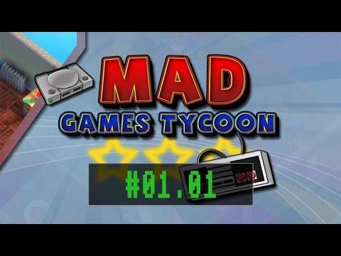 Mad Games Tycoon #01.01 - Steine im Weg [ eigene Regeln ]