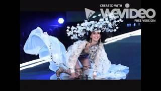Ming Xi falls down at Victoria's Secret 2017 fashion show Shanghai
