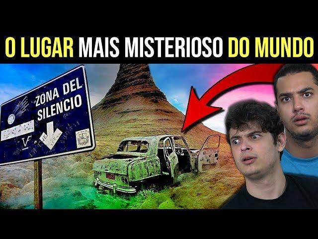 O LUGAR MAIS MISTERIOSO DO MUNDO - A ZONA DO SILÊNCIO !!