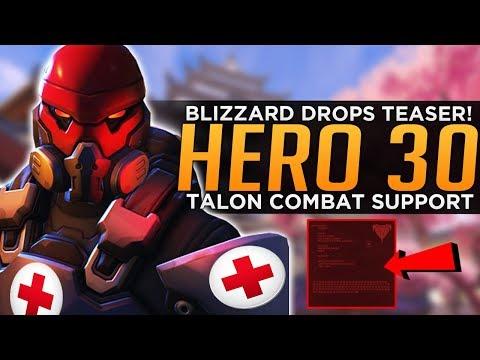 Overwatch: Hero 30 Teaser! - New Talon Support Hero! thumbnail