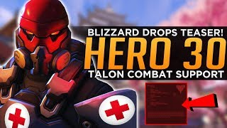 Overwatch: Hero 30 Teaser! - New Talon Support Hero!