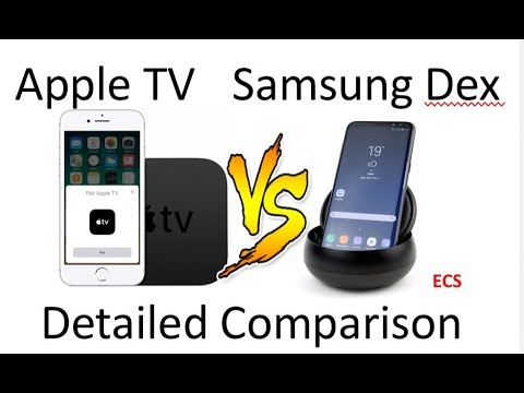 detailed look 3994c bbca1 Galaxy Note 8 Vs Apple iPhone X DETAILED COMPARISON | Apple TV Vs Samsung  DEX | Which one is better