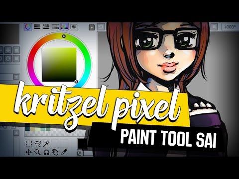 Paint Tool Sai ★ KRITZEL PIXEL   Programm Tutorial