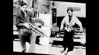 Bonnie & Clyde fotos reales música de Nico Vega