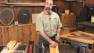 How To Use A Four-sided Tapered Leg Jig