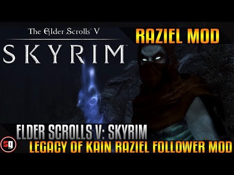 Skyrim - Legacy of Kain Raziel Follower Mod