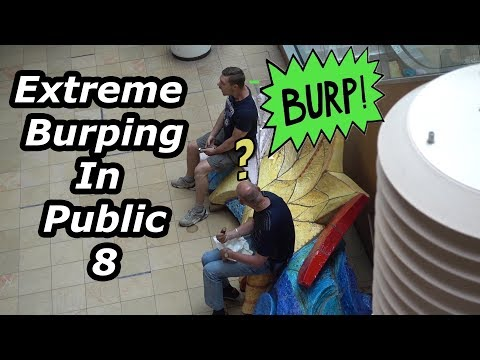 Extreme Burping in Public 8 My Favorite Shopping Mall!