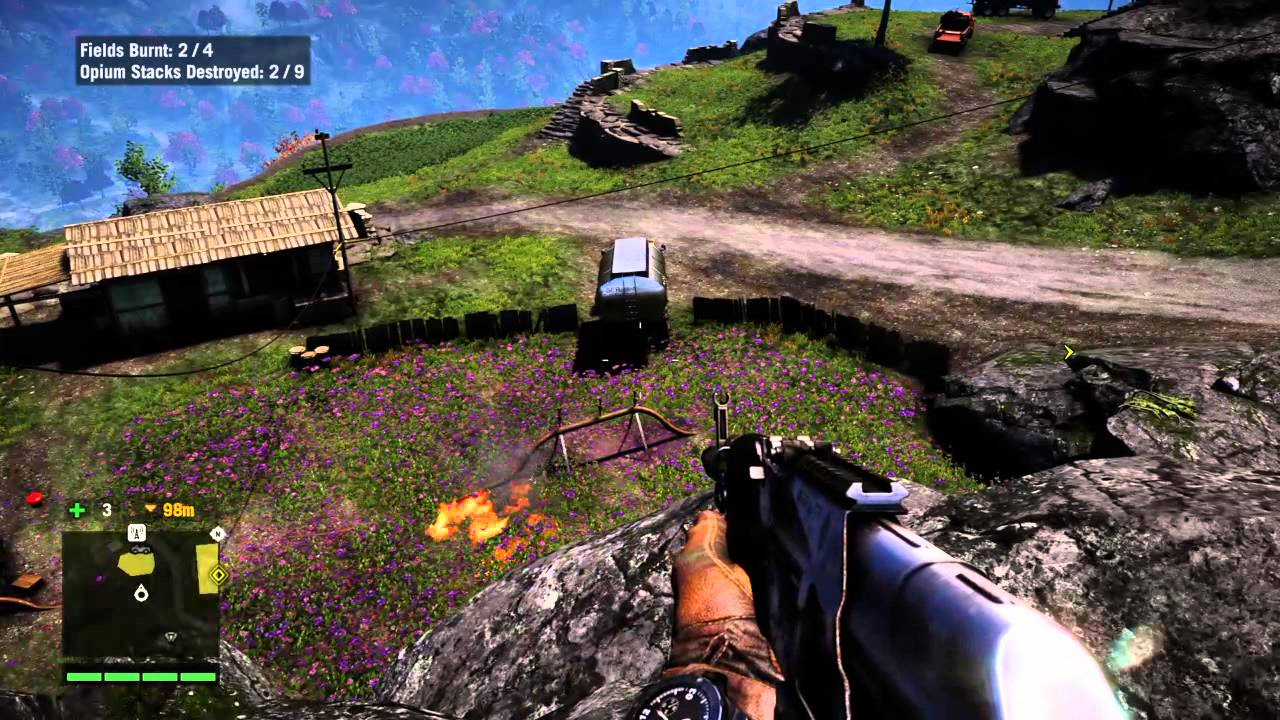 how to destroy the gate in far cry 4
