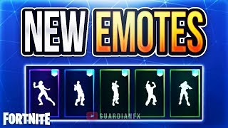 Fortnite - LEAKED UPCOMING EMOTES IN V5.4! [Vivacious, Hitchhiker, Battle Call, Fist Pump, My Idol!]