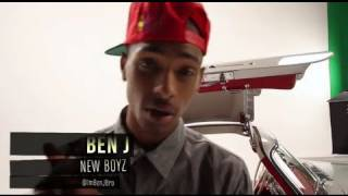 "New Boyz "" Backseat "" Video Shoot - Behind the Scenes"