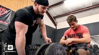 Hunter Labrada & Sage Northcutt Hypertrophy Leg Workout | Road to JR USA: Hunter Labrada - Ep 8