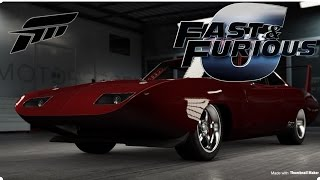 FAST AND FURIOUS 6, Dominic Toretto's Charger Daytona, (FORZA 6)