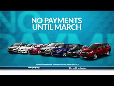 0.9% APR Plus No Payments for 3 Months on Your New Honda