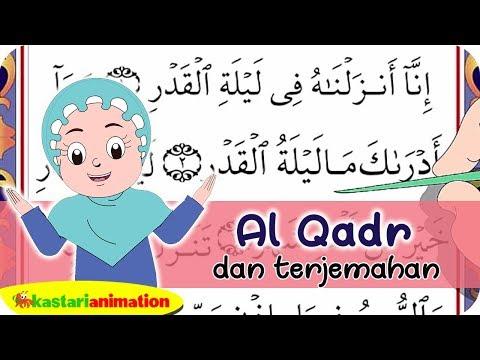 Al Qadr dan Terjemahan   Juz Amma Diva   Kastari Animation Official