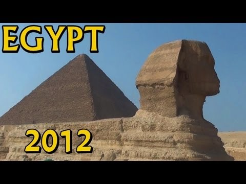 EGYPT 2012: Tour from Cairo to The Giza Plateau ~ Pyramids & Sphinx