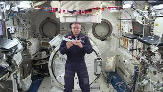 SPACE STATION CREW MEMBER DISCUSSES SCIENCE IN SPACE WITH CANADIAN STUDENTS
