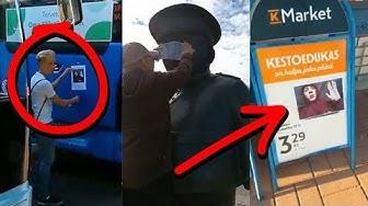 Seuraajat kiinnittää kuvia julkisille paikoille! (VKKV #3)