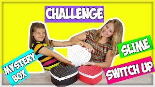 3 MYSTERY BOX SLIME SWITCH UP CHALLENGE !!!  francais