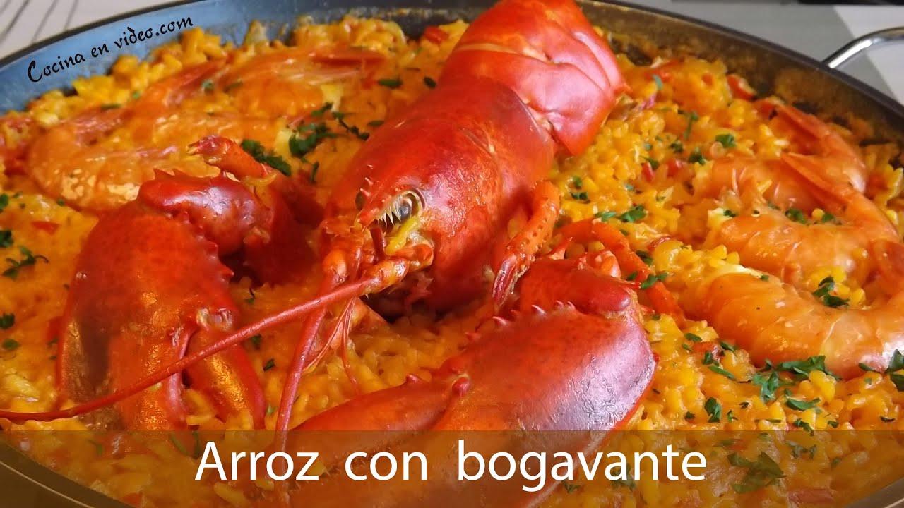 Arroz con bogavante rice with lobster tonio cocina for Como cocinar un bogavante