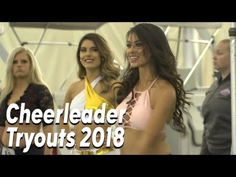 TEXANS CHEERLEADER TRYOUTS 2018
