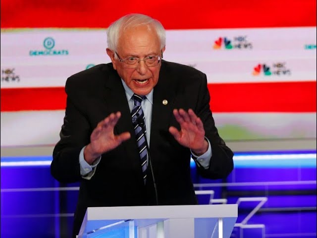 Bernie Bulldozes Debate On Medicare For All Like A Boss