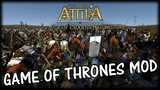 KING IN THE NORTH! Game of Thrones Total War Attila Mod Gameplay!