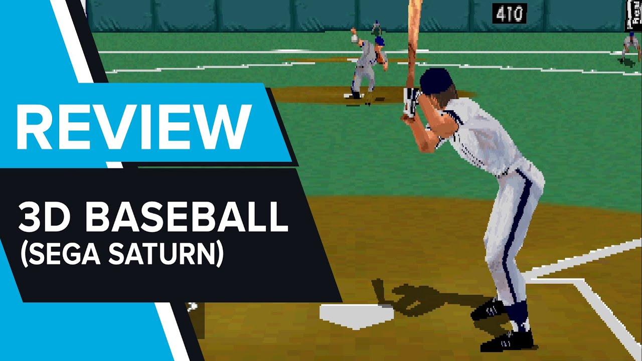 3D Baseball Review (Sega Saturn)