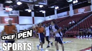 zach lavine brings his dunk show to 2016 usa select team practice