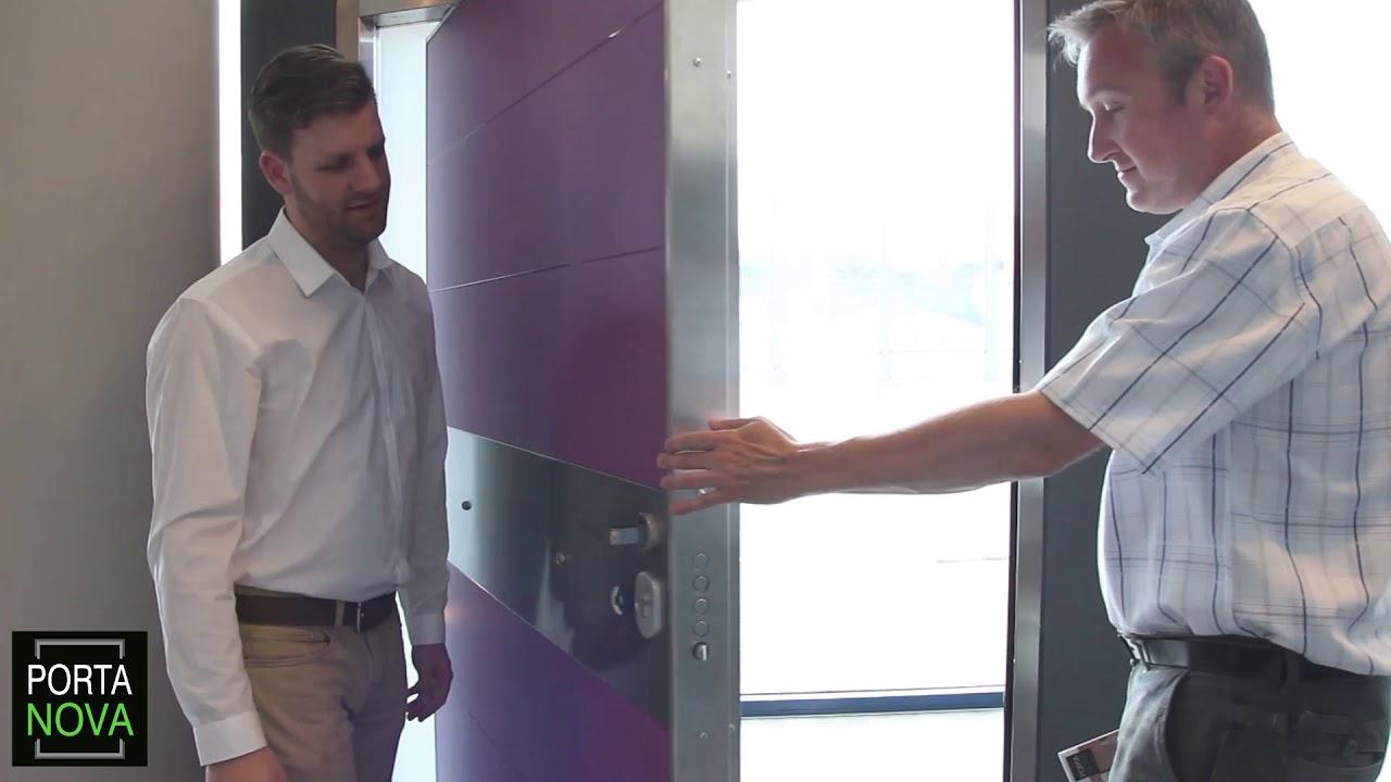 Pivot Door Operation - Portanova Security Doors  sc 1 st  YouTube & Pivot Door Operation - Portanova Security Doors - YouTube pezcame.com