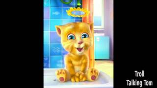 Itti si hansi itti si khushi !! BARFI !! Cute Hindi Song !! Troll Talking Tom !!