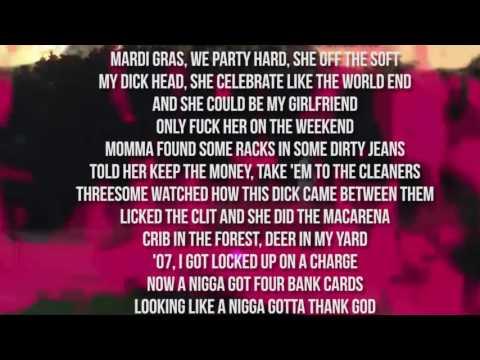 Danny Brown - Pneumonia + Lyrics (ORIGINAL AUDIO)