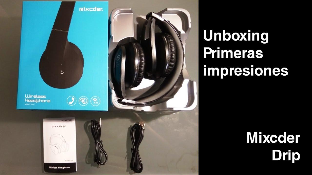 Mixcder Drip Cascos Bluetooth Review Geeknetic