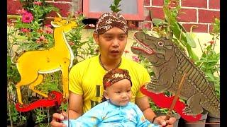Dongeng KANCIL dan BUAYA / Animal Puppet WAYANG BINATANG Jesan Diary [HD]