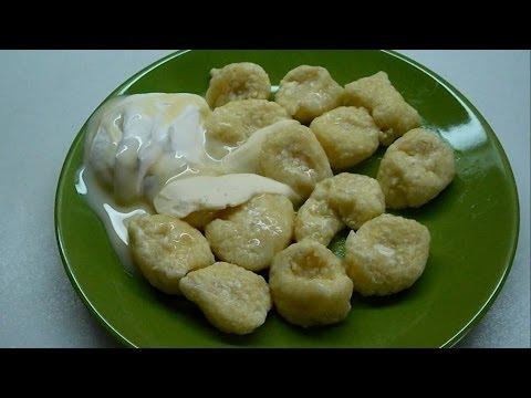 Рецепт Вкусно и просто Рецепт приготовления ленивых вареников с творогом. Видео рецепта.