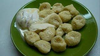 Вкусно и просто: Рецепт приготовления ленивых вареников с творогом. Видео рецепта.