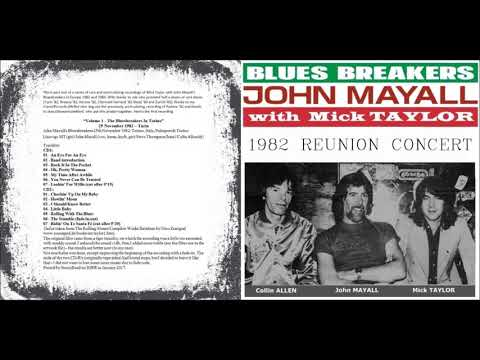 John Mayall with Mick Taylor - Reunion [1982]