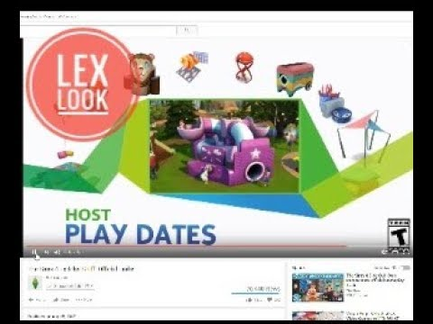 Lex Look! Sims 4 Official Toddler Stuff Pack Trailer |
