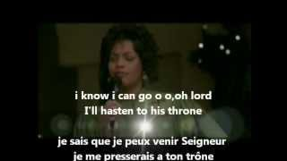 Withney Houston I love the lord lyrics traduction des paroles en francais