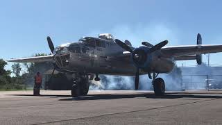 B-25 Mitchell  Great Plane at Gatineau Maid in the Shade
