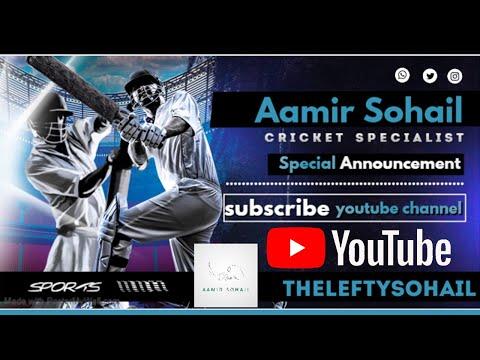 Aamir Sohail's Special Announcement