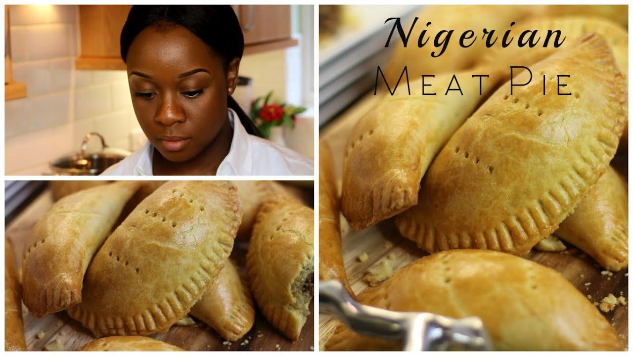 How To Make Nigerian Meat Pie Dinewithmuni Youtube