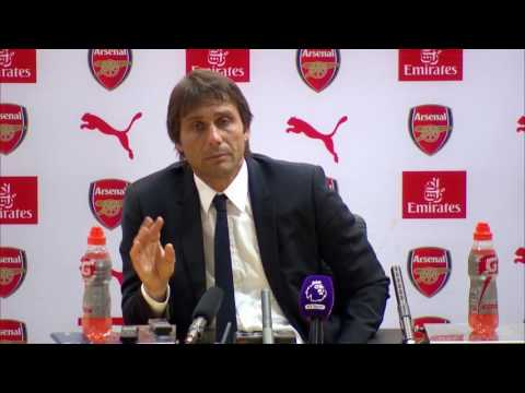 Antonio Conte Seething after Arsenal 3 - Chelsea 0