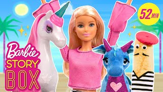 Barbie Goes on Magical Adventures with Friends   Barbie Story Box   Barbie