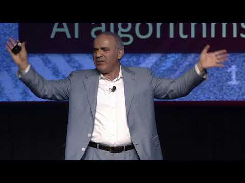Garry Kasparov at FICO World 2018