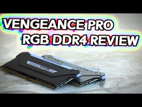 Vengeance PRO RGB Review - 3200MHz CL16 iCUE DDR4 Memory GOODNESS